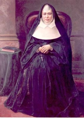 Sister Mary Francis Xavier Warde image. Click for full size.