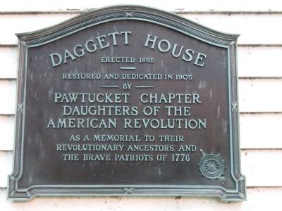 Daggett House Marker image. Click for full size.