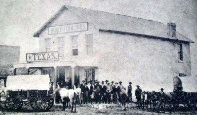 Conn Store Photo on Marker image. Click for full size.