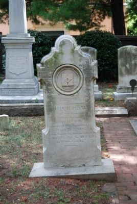 John H. Peare Tombstone image. Click for full size.