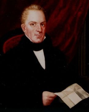 Reverend Timothy Alden, President of Allegheny College, 1816-1831 image. Click for full size.