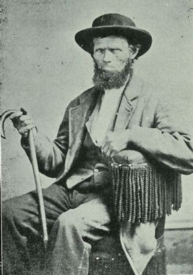 "Potter County's Seth Iredell Nelson, ""King Hunter of the Sinnemahoning,"" image. Click for full size."