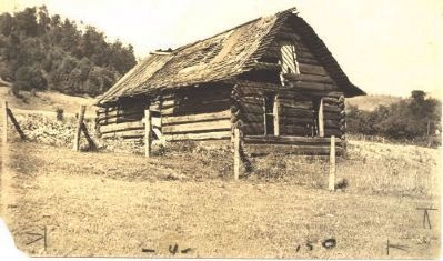 The last cabin standing from the Oleana Colony image. Click for full size.