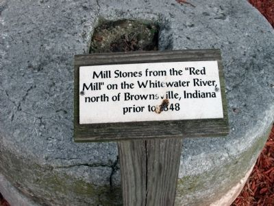 Mill Stones Marker image. Click for full size.