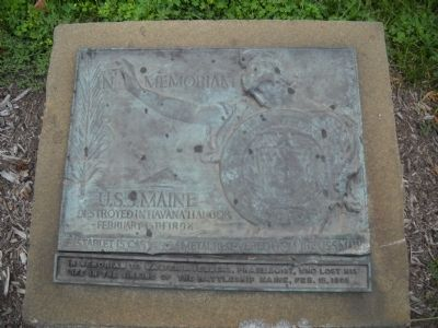 USS Maine Memorial image. Click for full size.