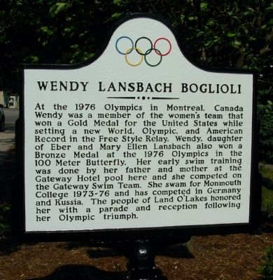 Wendy Lansbach Boglioli Marker image. Click for full size.