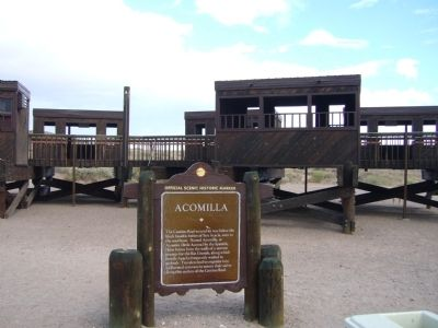 Acomilla Marker image. Click for full size.