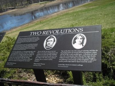 Two Revolutions Marker image. Click for full size.