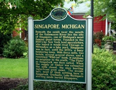 Singapore, Michigan Marker image. Click for full size.