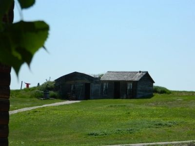 Typical Sod House image. Click for full size.