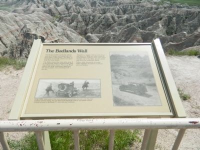 The Badlands Wall Marker image. Click for full size.
