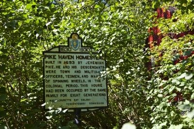Pike Haven Homestead Marker image. Click for full size.