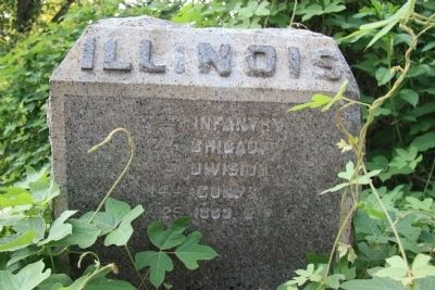 19th Illinois Marker image. Click for full size.