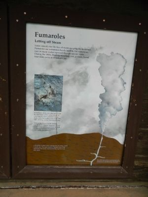 Fumaroles Marker image. Click for full size.