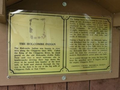 The Holcombe Indian Marker Photo, Click for full size
