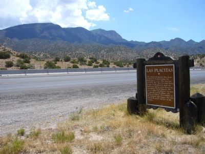 Las Placitas Marker image. Click for full size.