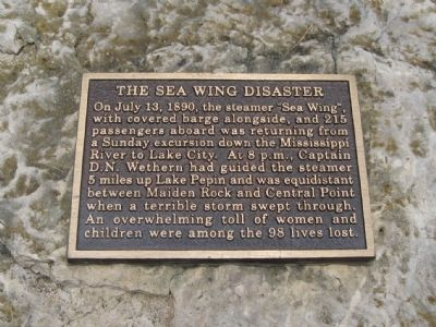 The Sea Wing Disaster Marker image. Click for full size.