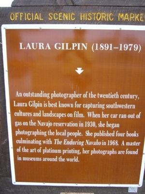 Laura Gilpin Marker image. Click for full size.