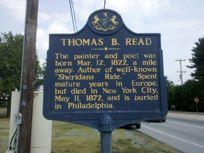 Thomas B. Read Marker image. Click for full size.