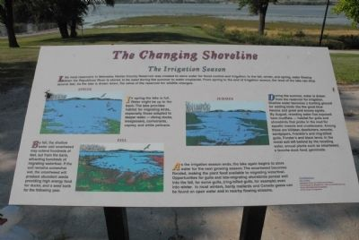 The Changing Shoreline Marker image. Click for full size.