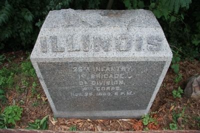 25th Illinois Monument image. Click for full size.