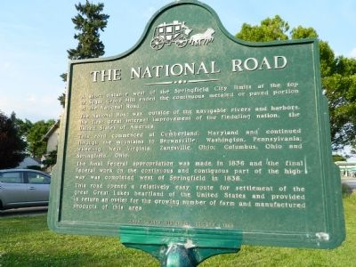 The National Road Marker image. Click for full size.
