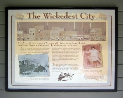 The Wickedest City Marker image. Click for full size.