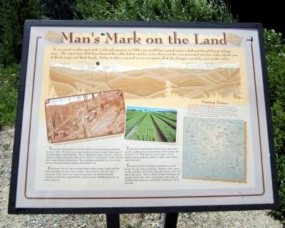 Man's Mark on the Land Marker image. Click for full size.