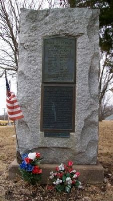 Chase County War Memorial image. Click for full size.