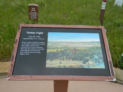 Timber Fight Marker image. Click for full size.