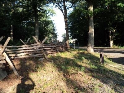 Split Rail Fence at Stumpy�s Hollow image. Click for full size.