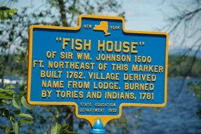 Fish House Marker image. Click for full size.