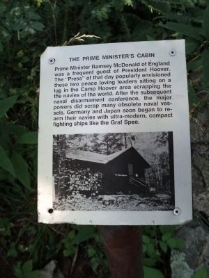 The Prime Minister's Cabin Marker image. Click for full size.