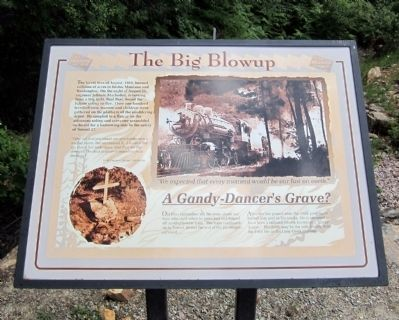 The Big Blowup Marker image. Click for full size.