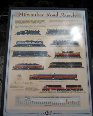 Milwaukee Road Muscle Marker image. Click for full size.