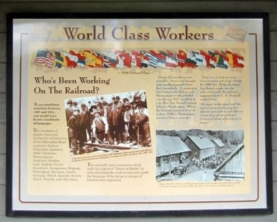 World Class Workers Marker image. Click for full size.