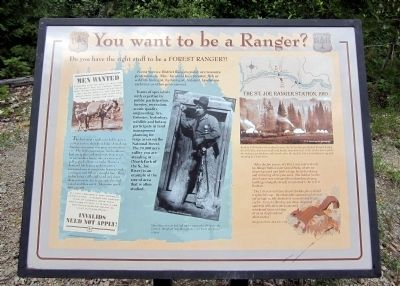 You want to be a Ranger? Marker image. Click for full size.
