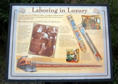 Laboring in Luxury Marker image. Click for full size.