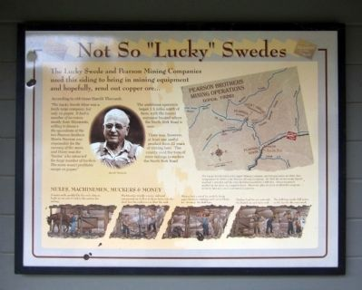 "Not So ""Lucky"" Swedes Marker image. Click for full size."