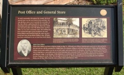 Post Office and General Store Marker image. Click for full size.