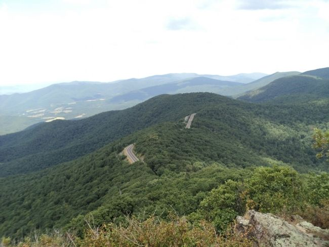 Skyline Drive Viewed from Little Stony Man image. Click for full size.