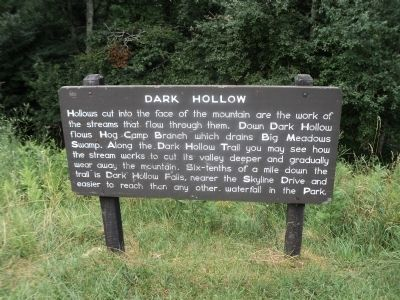 Dark Hollow Marker image. Click for full size.