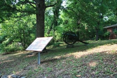 Calvert's (Arkansas) Battery Marker Photo, Click for full size