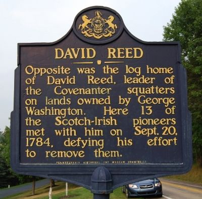 David Reed Marker image. Click for full size.