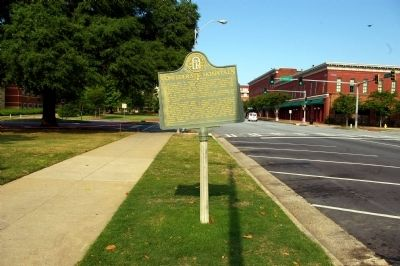 Confederate Hospitals Marker image. Click for full size.