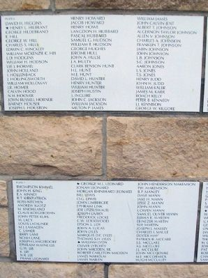Chase County All Veterans Memorial Honor Roll image. Click for full size.