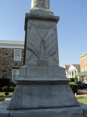Warren County Confederate Memorial Marker Photo, Click for full size