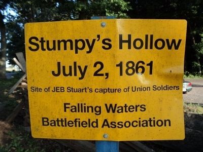 Stumpy�s Hollow Marker Photo, Click for full size