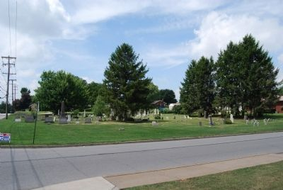 Ohio United Presbyterian Church Cemetery image. Click for full size.