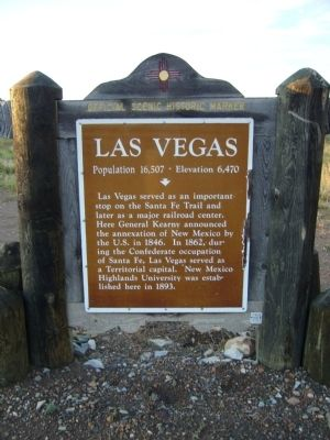 Las Vegas Marker image. Click for full size.
